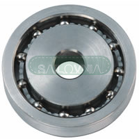 Allen High Load SS Sheave With Single Row Ball Bearing
