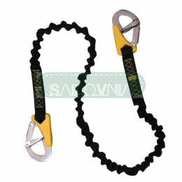Lalizas Safety Line Life-Link, double, elastic, ISO 12401, L 100-180cm