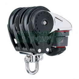 Harken 57mm Triple Ratchamatic Block - Swivel, Cam Cleat