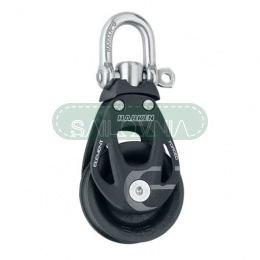 Harken 45mm Aluminum Element Block — Swivel