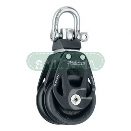 Harken 45mm Aluminum Element Double Block - Swivel