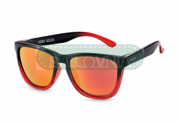 Rookie Hero Sunglasses Ocean red and black