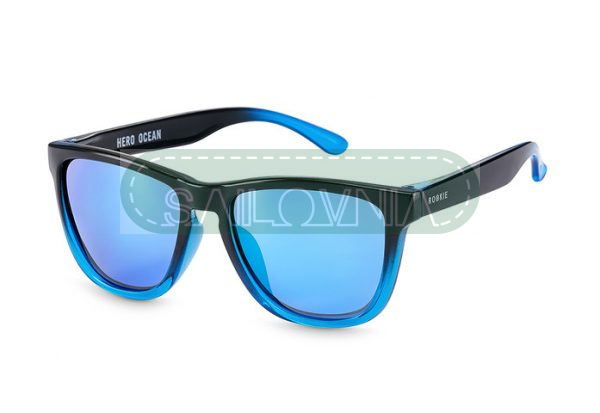 Rookie Hero Sunglasses Ocean blue and black