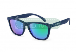 Rookie Hero Sunglasses dark blue green lenses