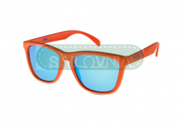 Rookie Hero Sunglasses orange blue lenses