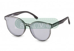 Rookie Papaya Sunglasses round grey