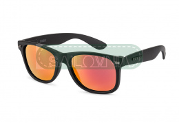 Rookie Sunday Sunglasses black red lenses